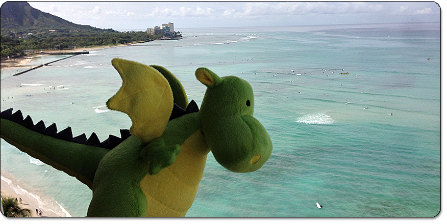 Waikiki with Diamond Head